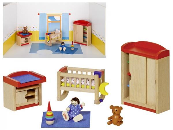 Puppenhausmöbel für das Kinderzimmer