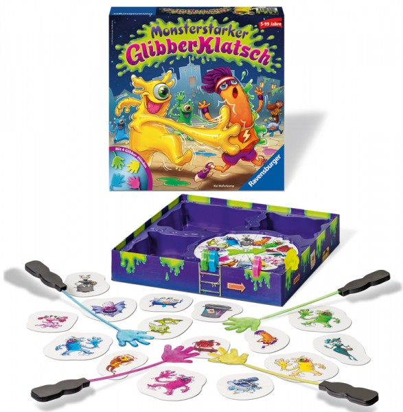 Kinderspiel Monsterstarker Glibber-Klatsch