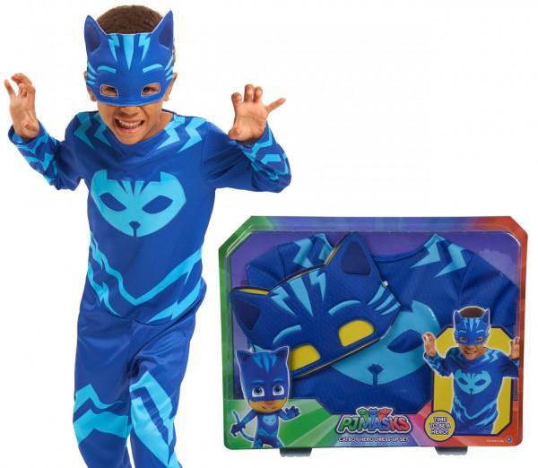 PJ Masks Kostüm Catboy Gr. 110 - 122 (Blau)