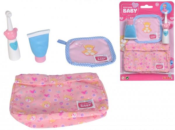 New Born Baby Waschzubehör für Puppen mit Zahnbürste