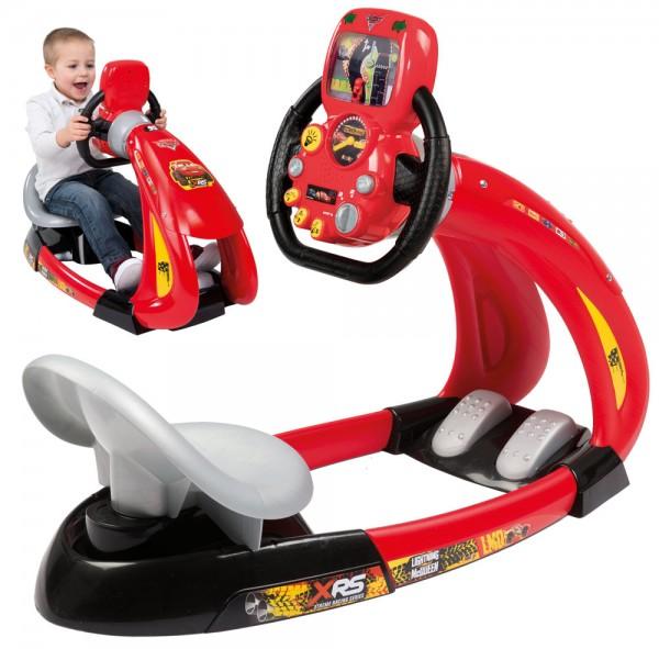 Fahrsimulator Cars XRS V8 Driver mit Smartphonehalter (Rot)