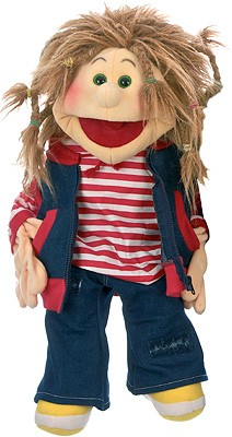 Living Puppets Große Handpuppe Ronja 65 cm