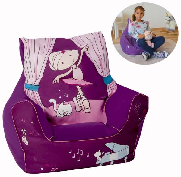 Kindersitzsack Nici Miniclara (Lila)