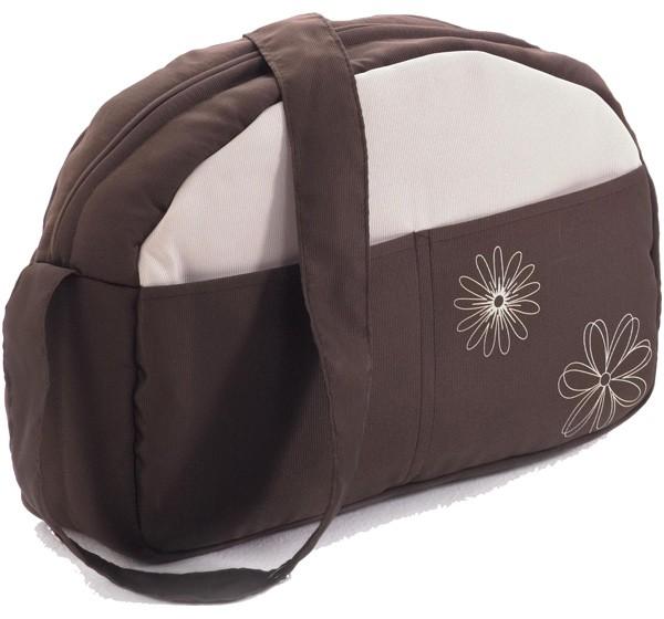 Wickeltasche für Kinderwagen (Schokobraun)