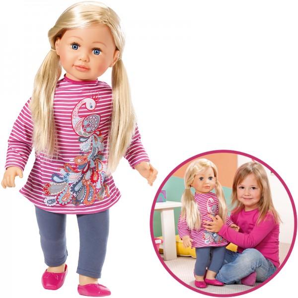 Große Puppe Sally 63 cm (Blond)