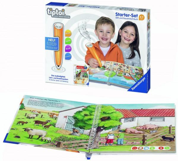 Lernspiel Tiptoi Starter Set mit Stift und Bauernhof-Buch