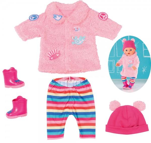Baby Born Trend Glitzer Mantel 43 cm (Rosa-Pink)