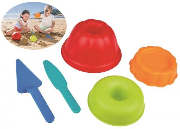 Sandspielzeug Backstube-Förmchen