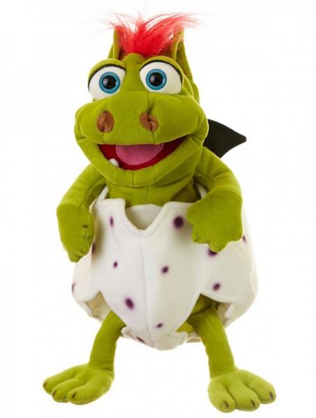 Living Puppets Handpuppe Klein Gregor im Ei 36 cm