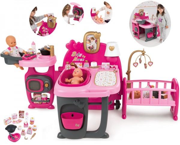 Großes Baby Nurse Puppen-Spielcenter (Pink)
