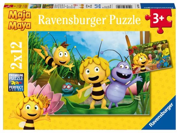 Kinderpuzzle Biene Maja Der Ausflug ab 3 Jahren