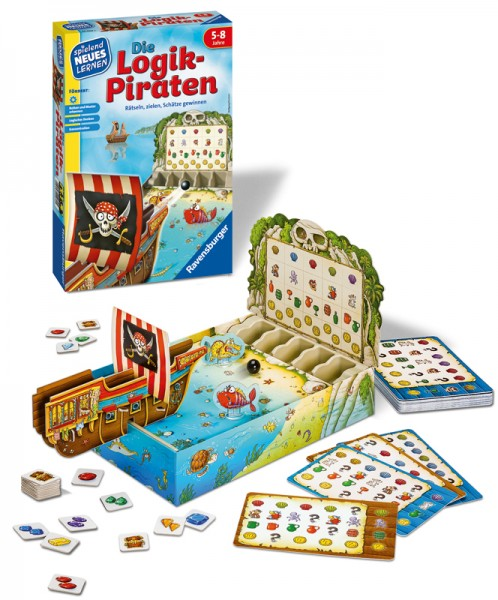 Kinderspiel Die Logik-Piraten