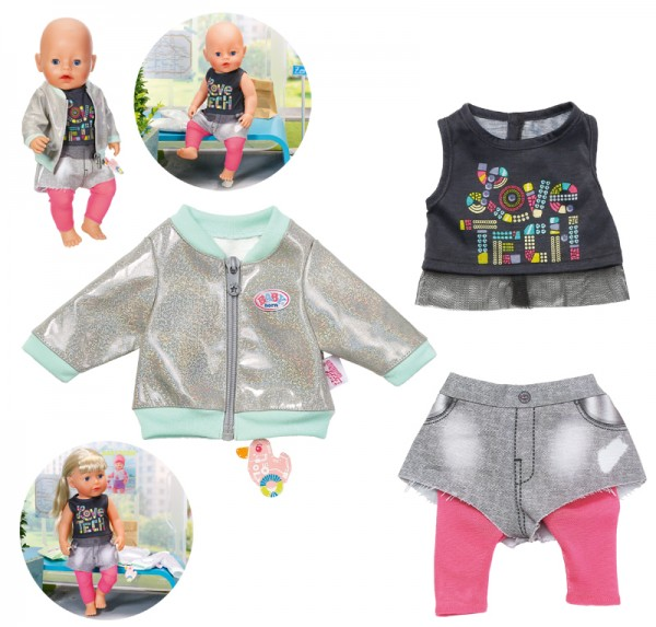 Baby Born City Outfit 43 cm (Bunt)
