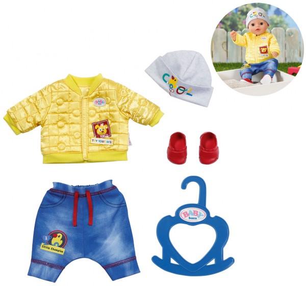Baby Born Little Cool Kids Outfit 36 cm (Gelb-Blau)
