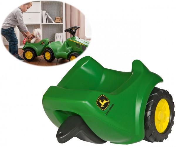 RollyMinitrac John Deere Anhänger für Rutscherauto (Grün)