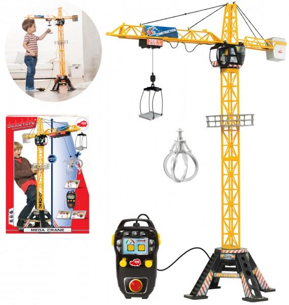 Spielzeug-Kran Mega Crane mit Fernbedienung