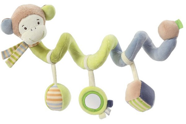 Monkey Donkey Activity Spirale Affe (Braun-Grün)