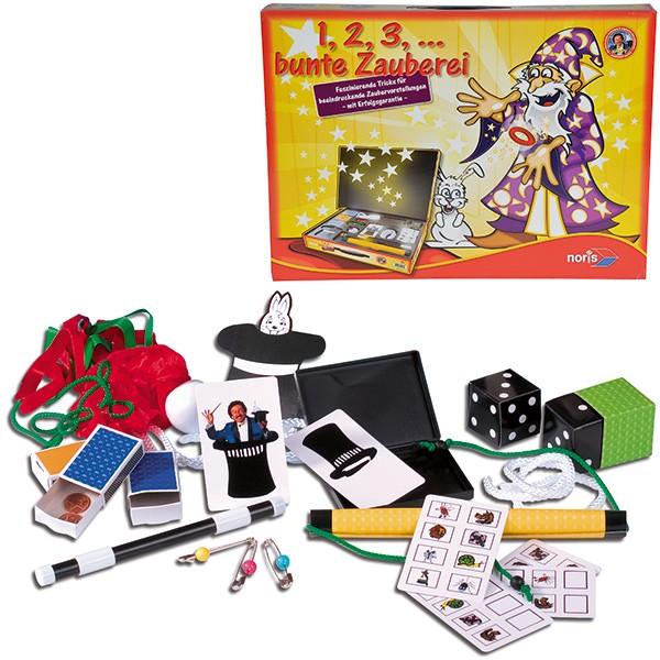 Zauberkoffer 1, 2, 3 Bunte Zauberrei