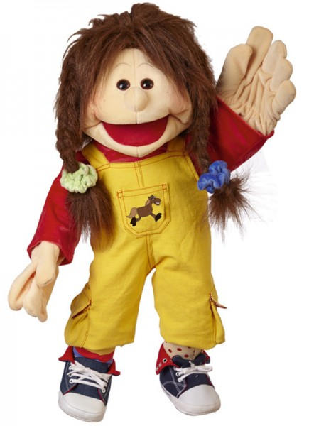 Living Puppets Große Handpuppe Zwilling Lou 65 cm
