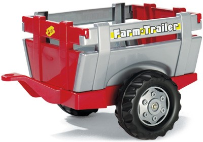 RollyTrailer Anhänger Farm (Rot-Silber)