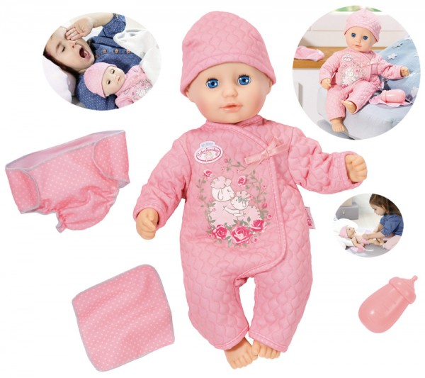 My First Baby Annabell Puppe Baby Fun 36 cm (Rosa)