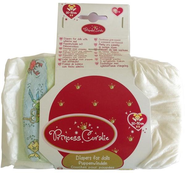 Princess Coralie Windelpaket für Puppe
