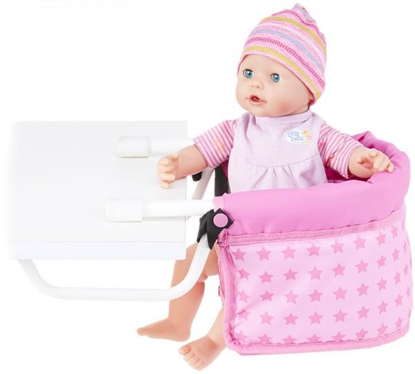Puppen-Tischsitz Sternchen (Rosa-Pink)