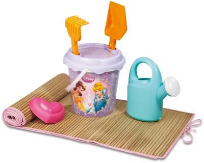 Tasche mit Strandmatte und Sandspielzeug Princess
