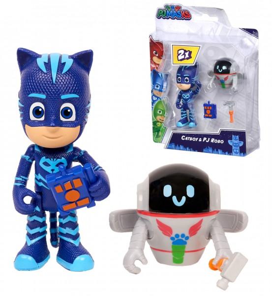 PJ Masks Figuren Set Catboy und PJ Robo