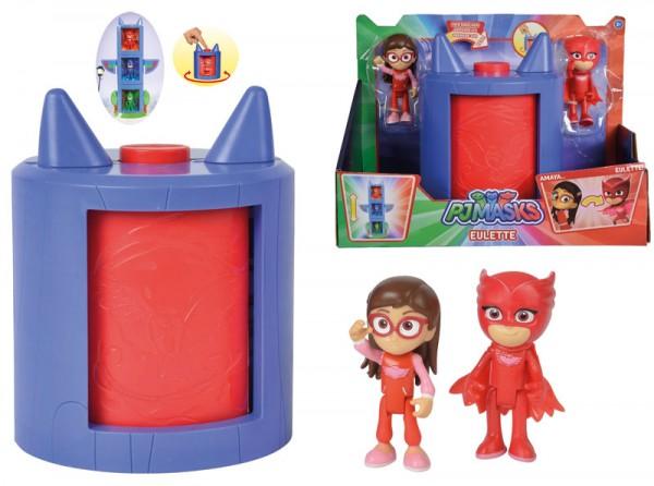 PJ Masks Verwandlung Amaya in Eulette Spielset (Rot)