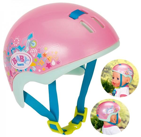 Baby Born Play&Fun Fahrradhelm 43 cm (Pink)