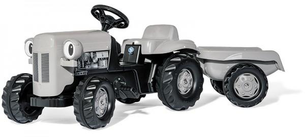 RollyKid Little Grey Fergie Traktor mit Anhänger (Grau)