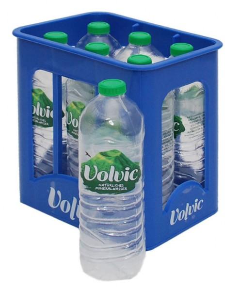 Getränkekiste für Kaufmannsladen Wasser Volvic