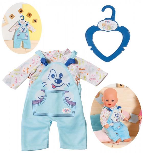 Baby Born Kleiner Einteiler Latzhose 36 cm (Hellblau)