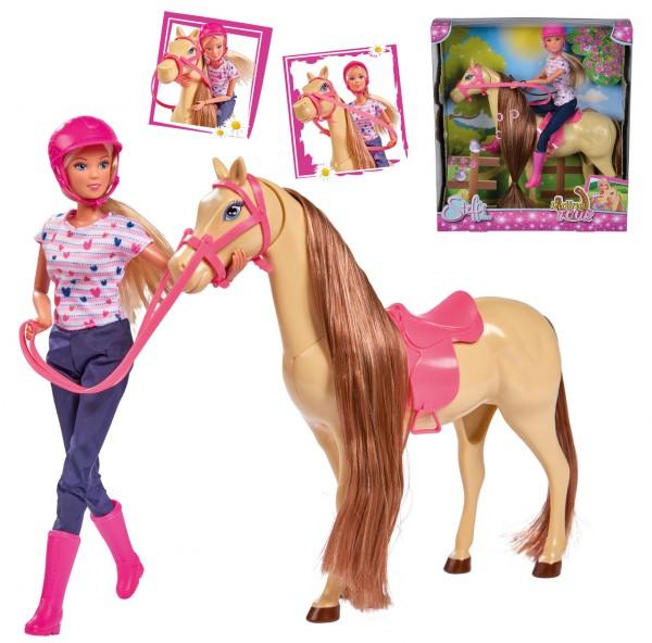 Steffi Love Riding Tour Pferd mit Steffi Puppe