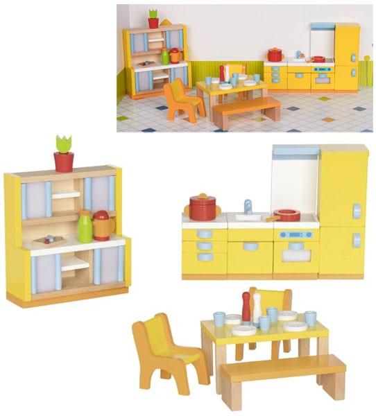 Puppenhausmöbel Moderne Küche