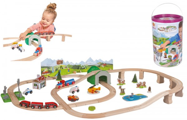 Eisenbahn-Set Bergrettung
