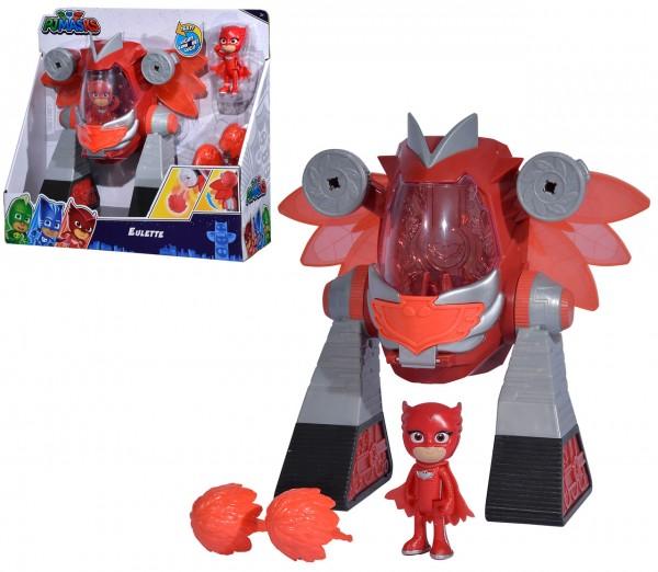 PJ Masks Turbo Roboter Eulette (Rot)