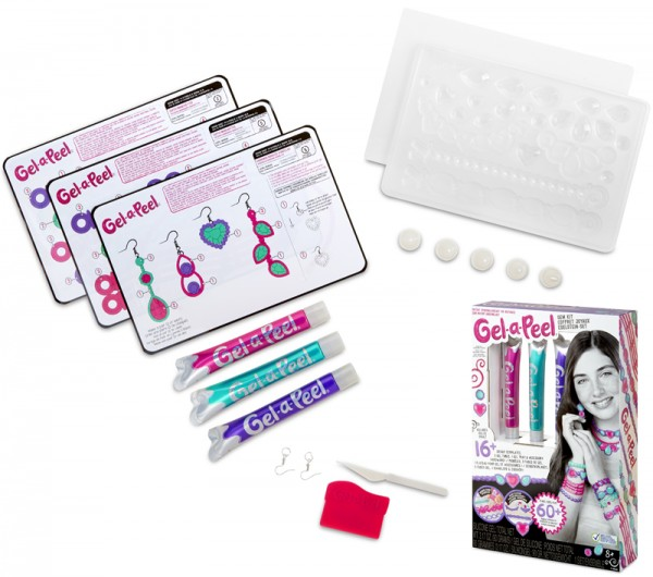 Gel-a-Peel 3er Pack Gel Set (Pink-Lila-Petrol)