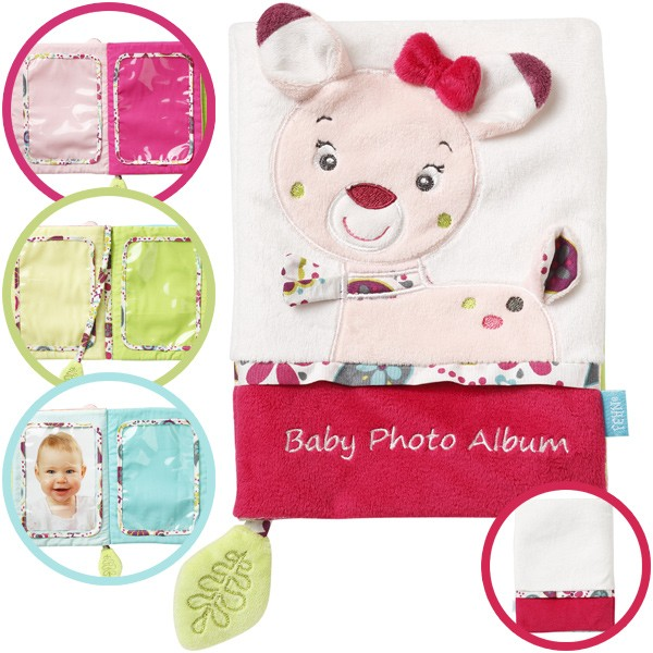 Sweetheart Babys erstes Fotobuch Reh (Weiß-Pink)