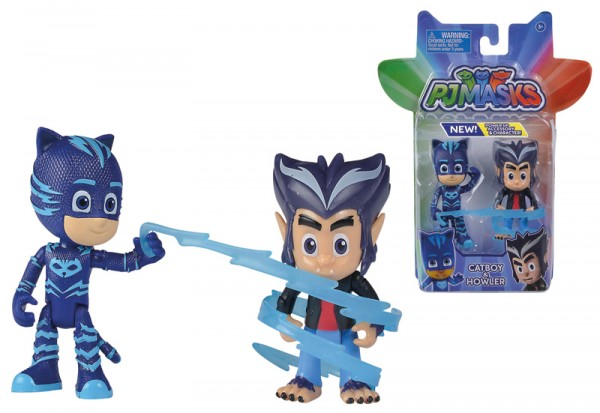 PJ Masks Figuren Set 2er Pack Catboy und Howler