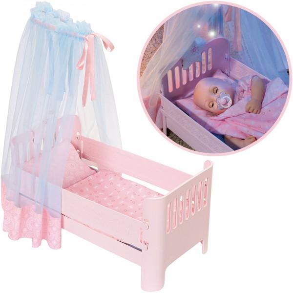 Baby Annabell Sweet Dreams Bett (Rosa)