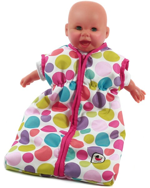 Puppenschlafsack (Pinky Bubbles)