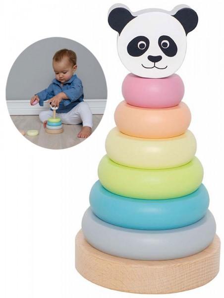 Stapelturm Panda (Pastell)