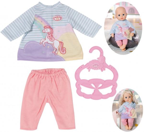 Baby Annabell Little Sweet Kleid Einhorn 36 cm (Pastell)
