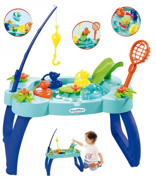 Wasserspieltisch mit Angel-Spiel (Türkis-Blau)