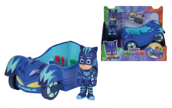 PJ Masks Cat Boy mit Katzenflitzer (Blau)
