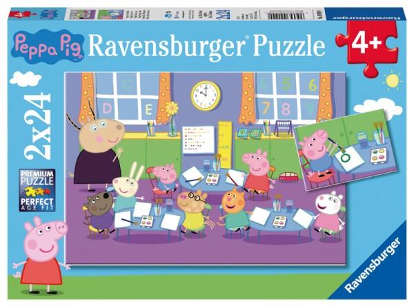 Kinderpuzzle Peppa Pig Peppa in der Schule ab 4 Jahren