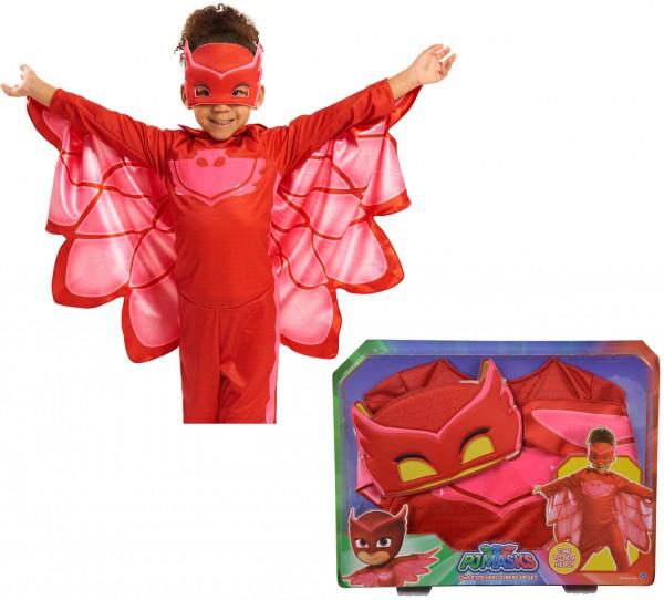 PJ Masks Kostüm Eulette Gr. 110 - 122 (Rot)