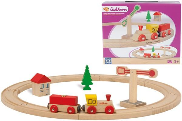 Eisenbahn-Set Kreis 15-teilig
